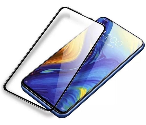 Película de Vidro 5d Borda Preta para Xiaomi Mi Mix 3