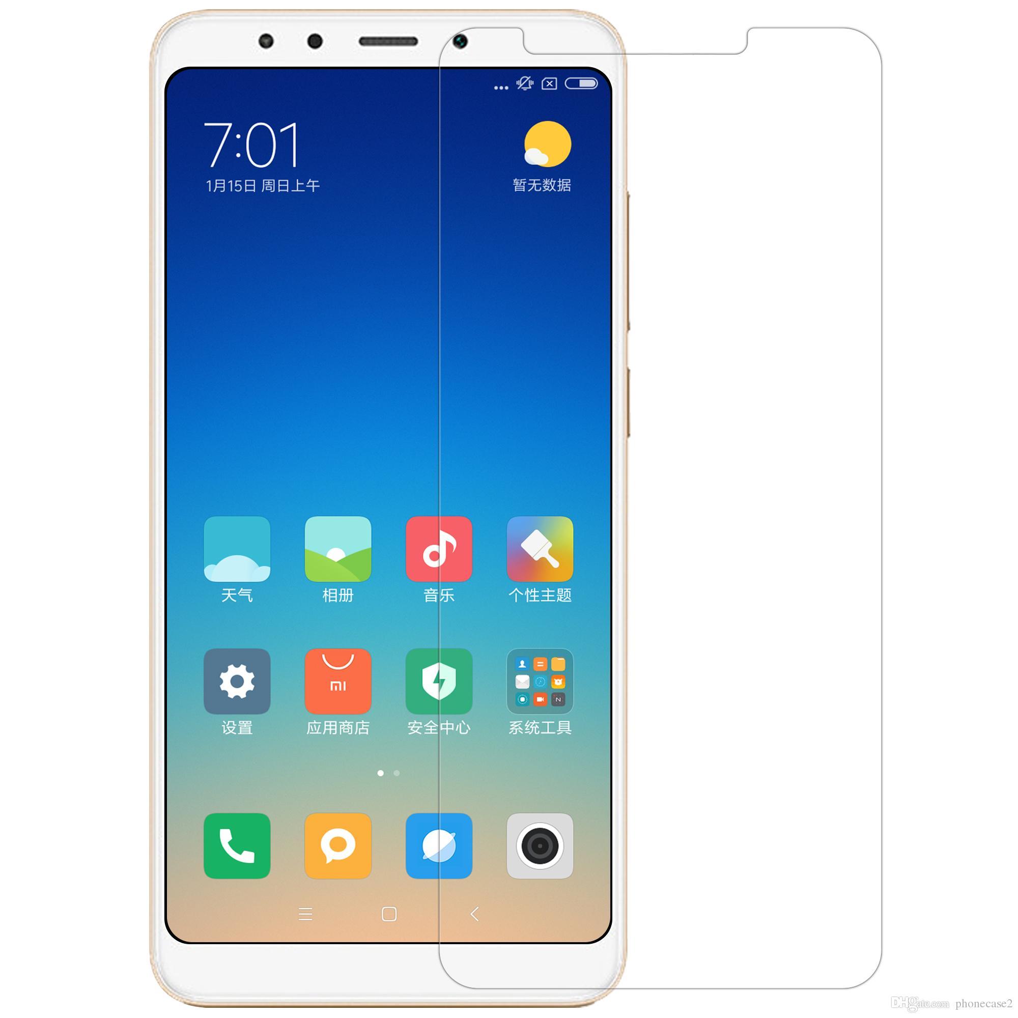 Película de Vidro p/ Xiaomi Redmi Note 5 / Redmi 5 Plus