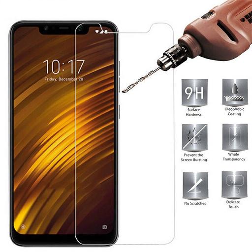 Película de Vidro para Xiaomi Pocophone F1 Tela de 6,18