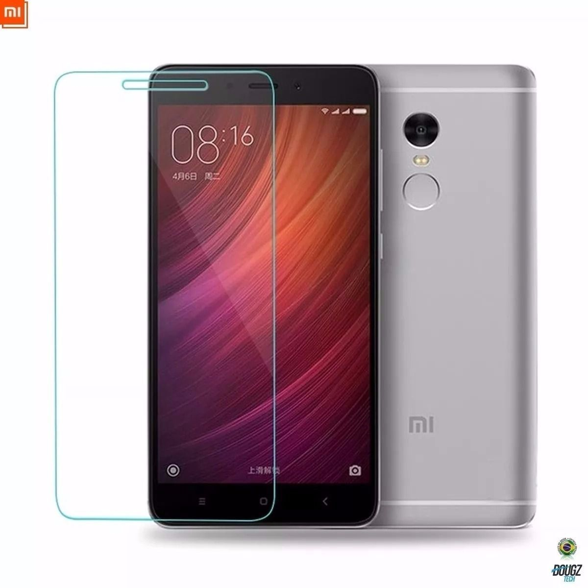Película de Vidro para Xiaomi Redmi Note 4 tela de 5,5 polegadas
