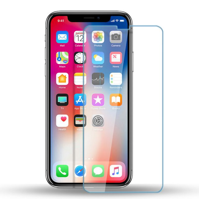 Película de Vidro Transparente para Iphone X