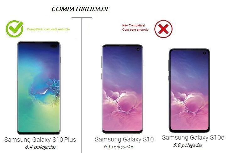 Pelicula Nano Gel Borda Preta Para Galaxy S10 Plus