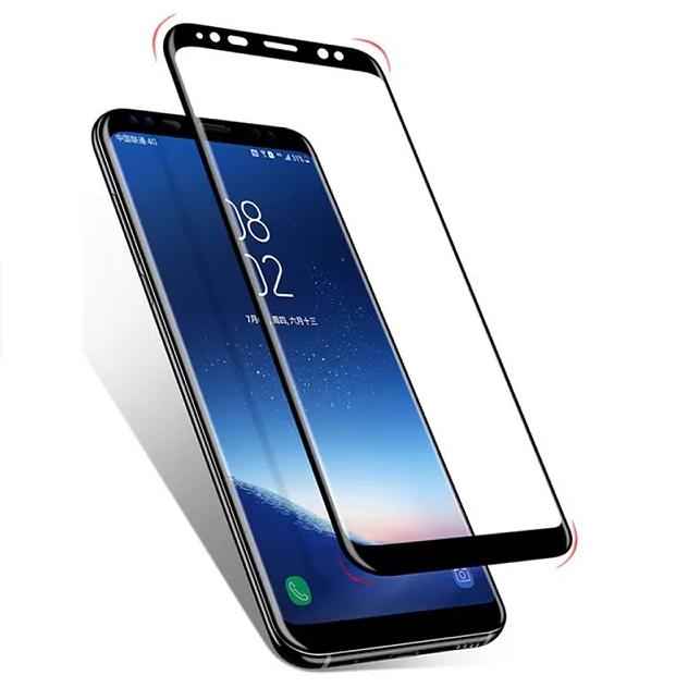 Película Nano Gel Borda Preta Samsung Galaxy S8 Plus