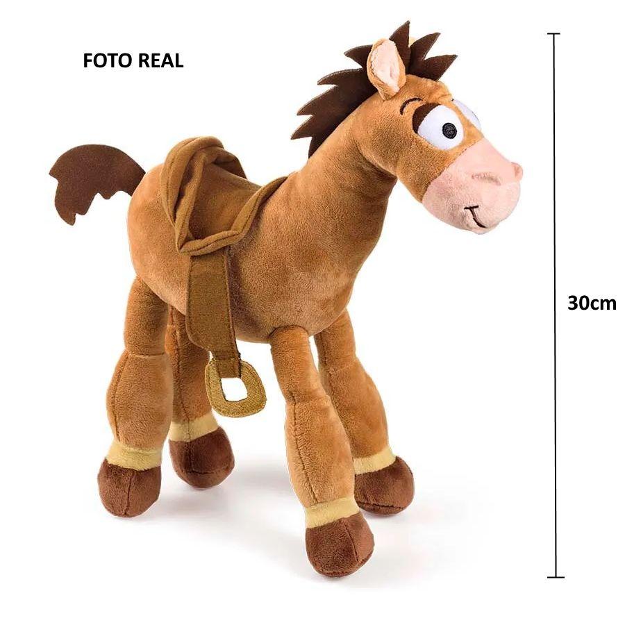 Pelúcia Bala no Alvo Cavalinho do Toy Story de 30cm com Som Disney Pixar