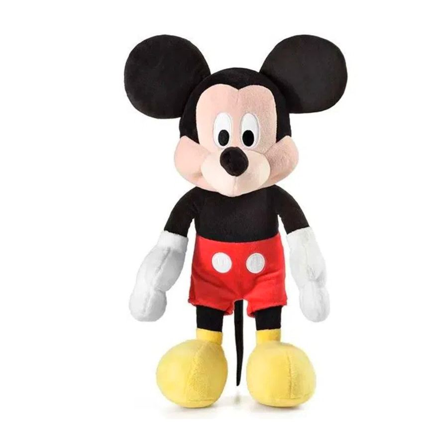 Pelúcia do Mickey Mouse de 22cm com Som em Português Disney Junior