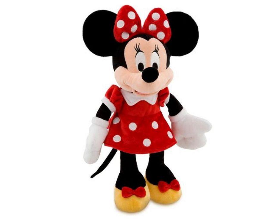 Pelúcia do Minnie de 28cm com Som em Português Disney Junior