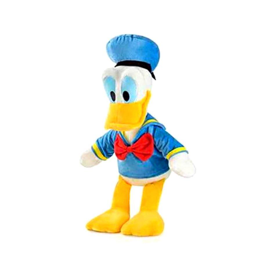Pelúcia do Pato Donald 22cm c/ Som Disney Acabamento Premium