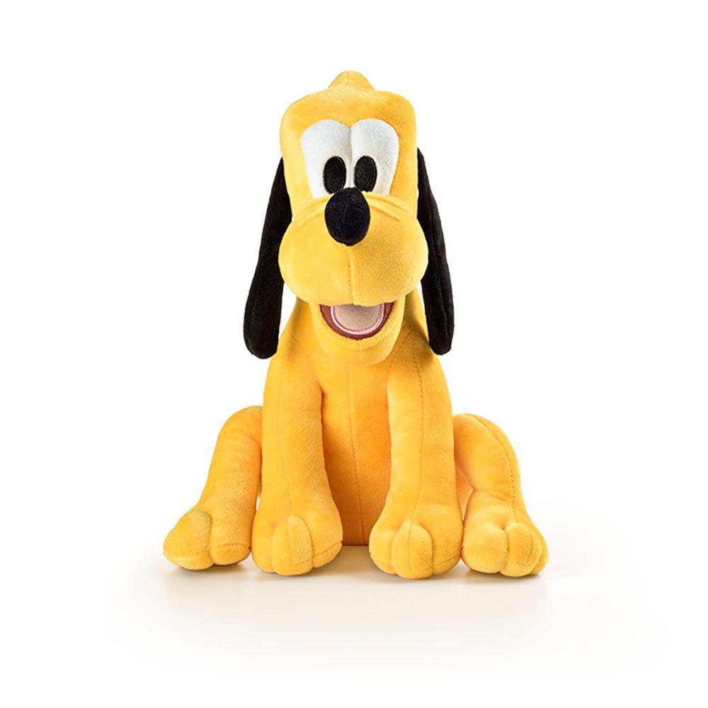 Pelúcia do Pluto de 22cm com Som Disney Acabamento Premium