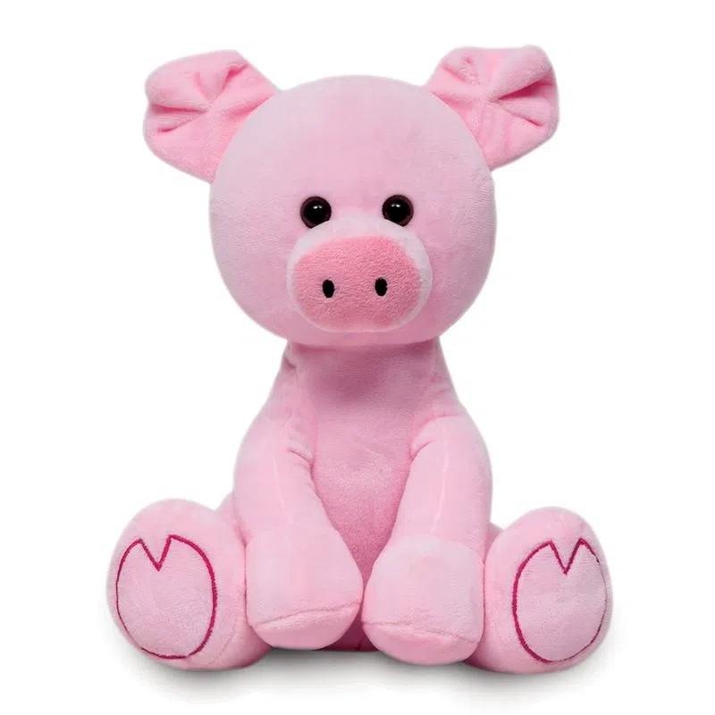 Pelúcia Meu Porquinho Buba Baby Fofinho Rosa