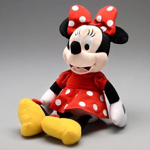 Pelúcia Minnie de 45cm com Som e Falas em Português Disney