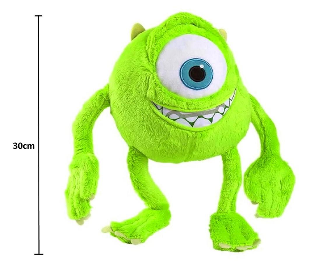 Pelúcias Mike e Sulley Monstros S/A 30cm Falas em Português Licenciado Disney