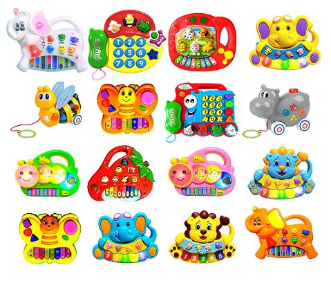 Pianinho Bebe Brinquedo Infanti Educativo Piano Musical Baby