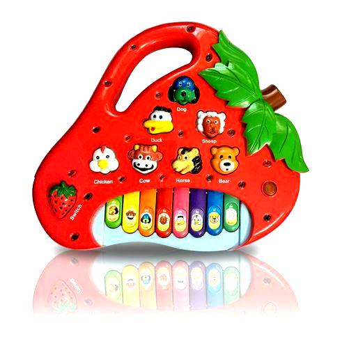 Piano Baby Musical Moranguinho Infantil