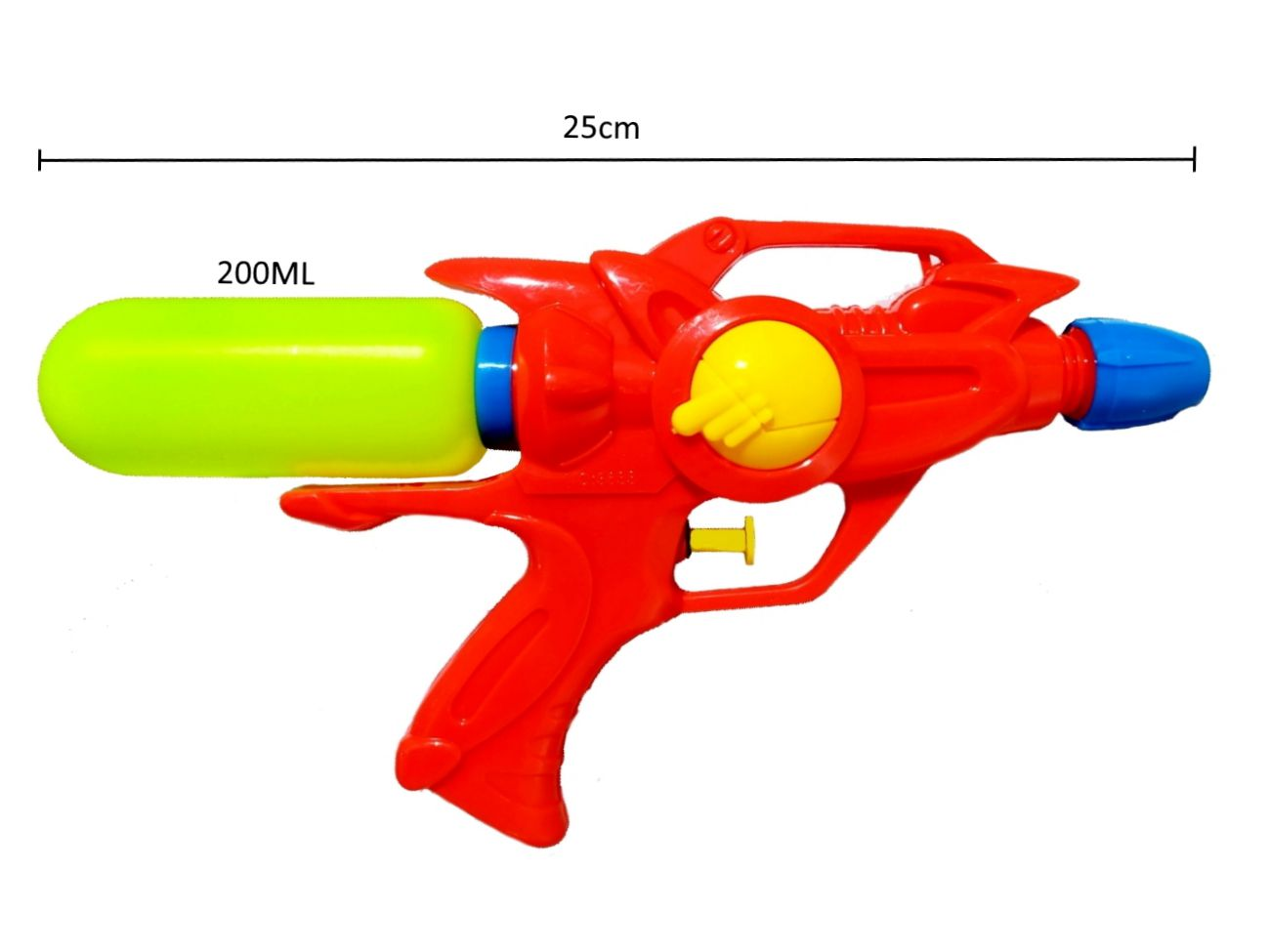 Pistola Arminha de Agua 250 ML Vermelha - 2 Unidades