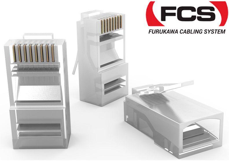 Plug Conector de Rede RJ45 Cat5e Macho Furukawa Soho Plus - 200 unidades