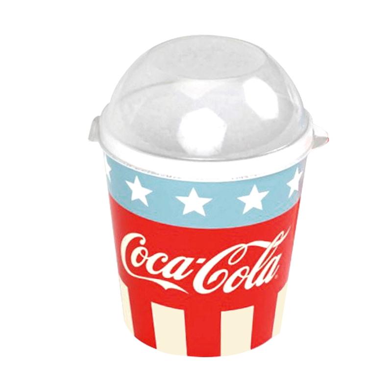 Porta Mix Festas Coca Cola com Tampa Lanches e Petiscos