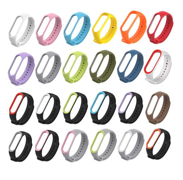 Pulseira Silicone Xiaomi Colorida Para Mi Band 4 3 E 2