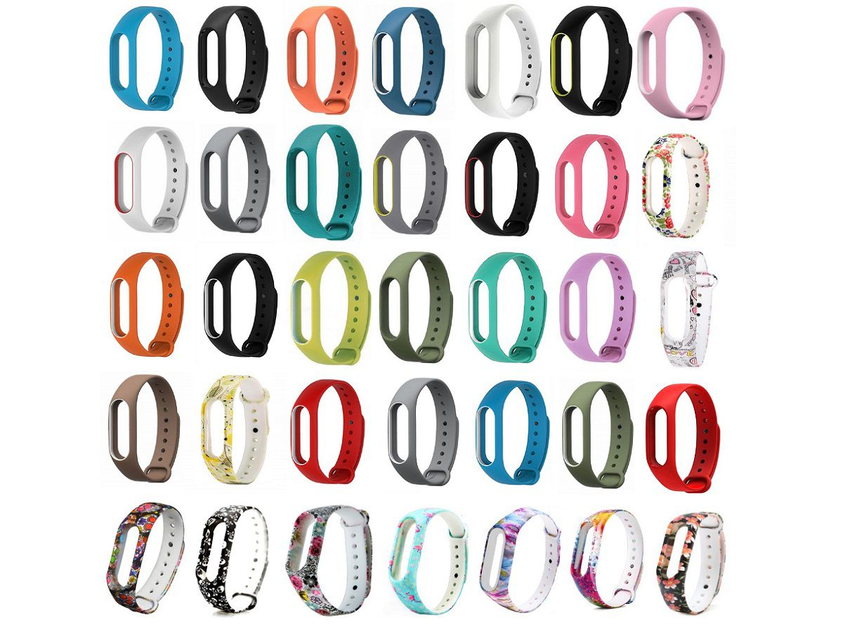 Pulseira Xiaomi Colorida Para Mi Band 2