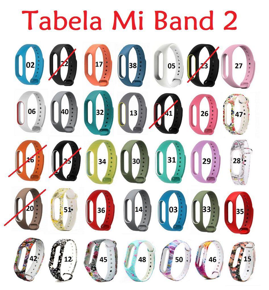 Pulseira Xiaomi Colorida Para Mi Band 2 - 2 Unidades