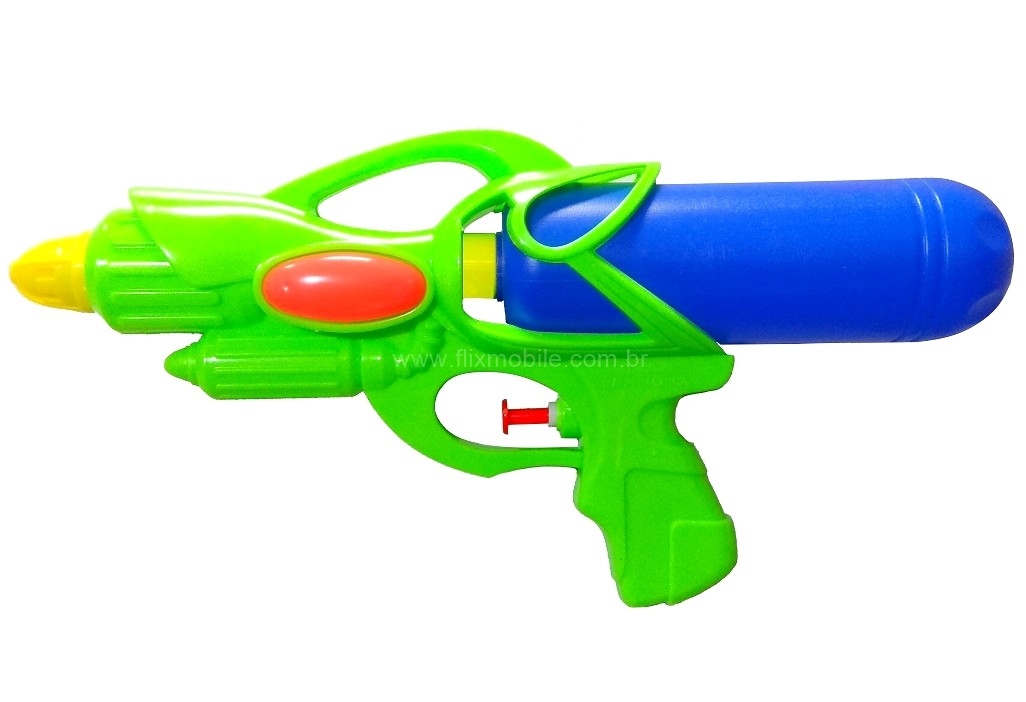 Super Arminha de Água Pistola Lançador de Agua Colorido Flix Water - Kit com 4