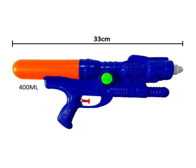 Super Arminha de Água Pistola Lançador de Agua Jato Duplo Flix Water - Kit com 3 FU19017