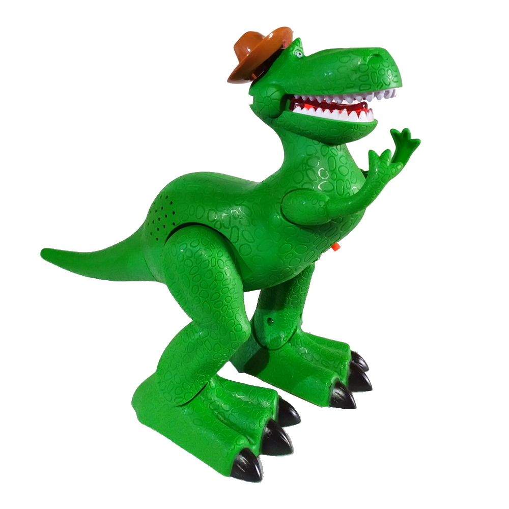 Tiranossauro Rex Anda com Som Luz e Música