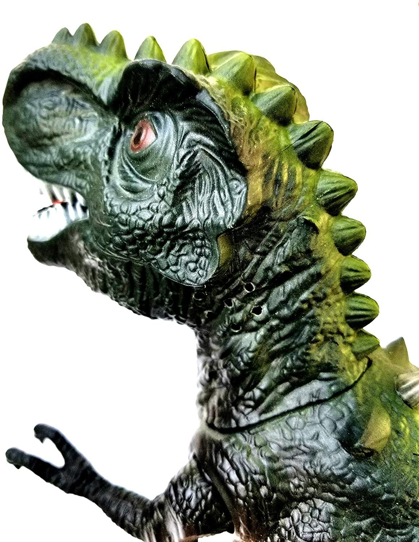 Tiranossauro Rex do Valley Realista que Anda com Som e Luzes Verde