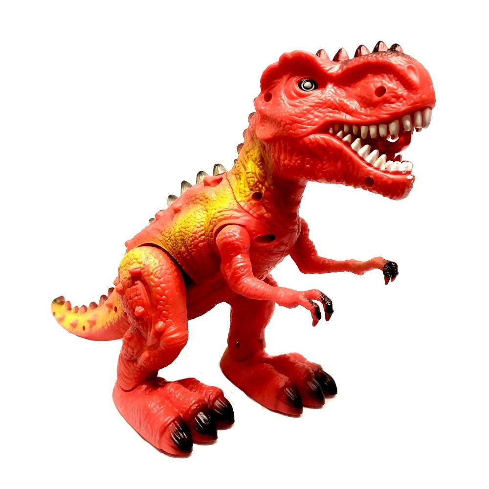 Tiranossauro Rex do Valley Realista que Anda com Som e Luzes Vermelho