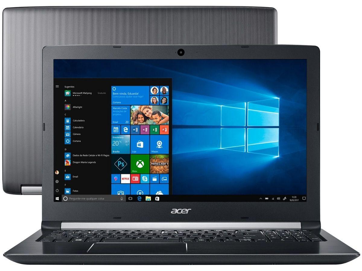 Notebook ACER  i5-7200U 8GB 2TB