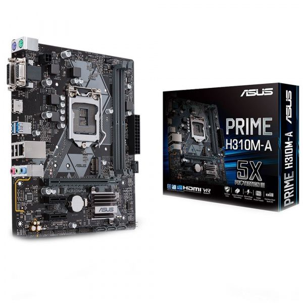 Placa mãe Asus H310M-A DDR4 2666MHZ LGA