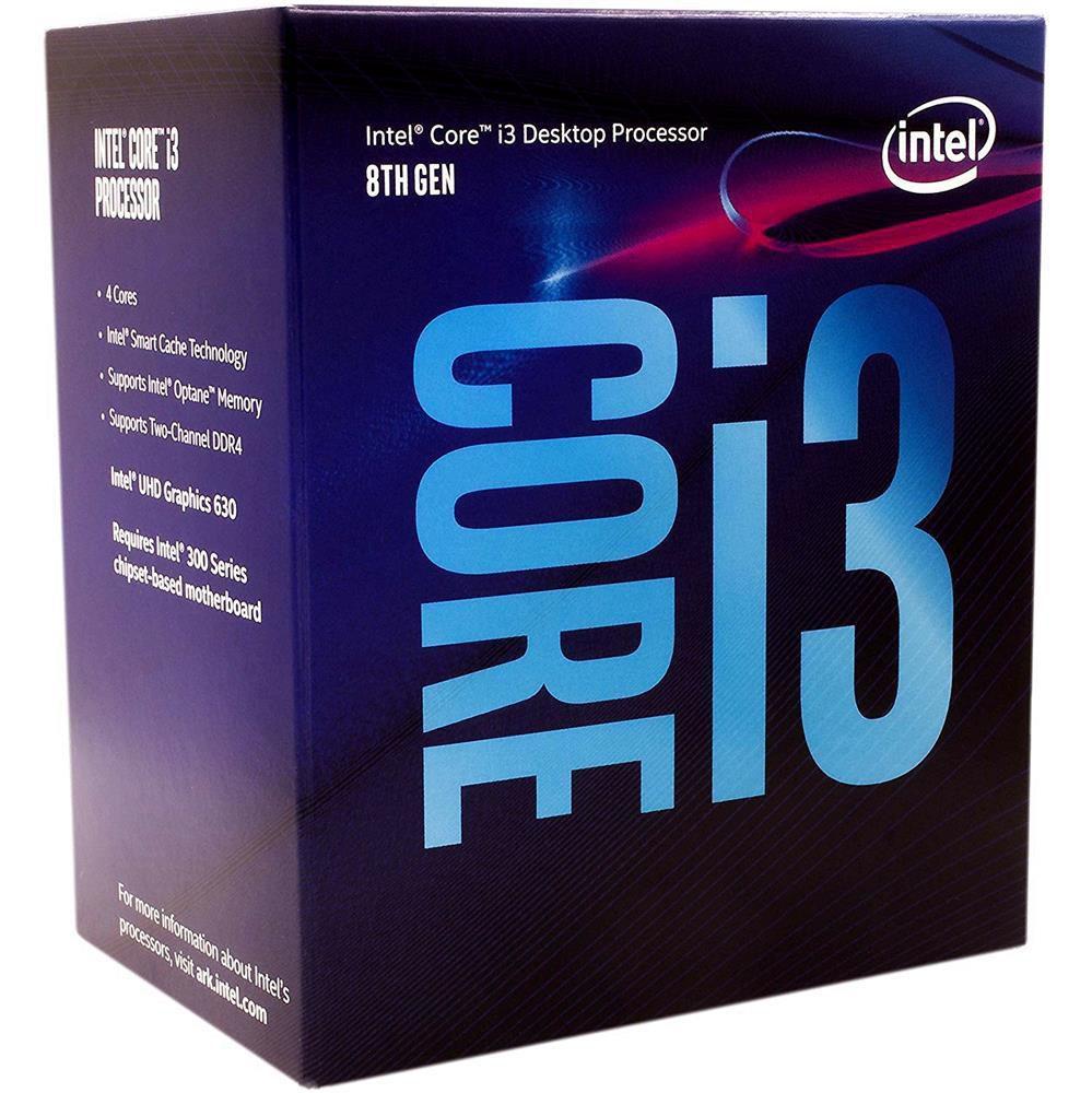 Processador Intel Core I3-81001151 3.6 Ghz