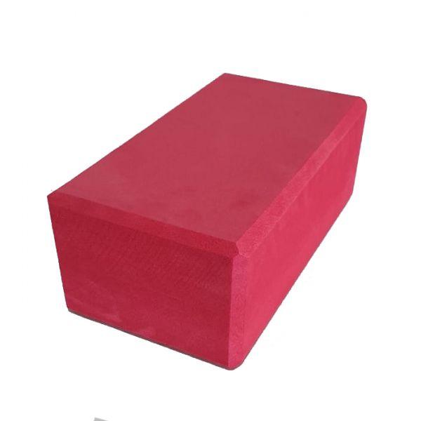 Bloco de Yoga Vermelho 8x12x21cm
