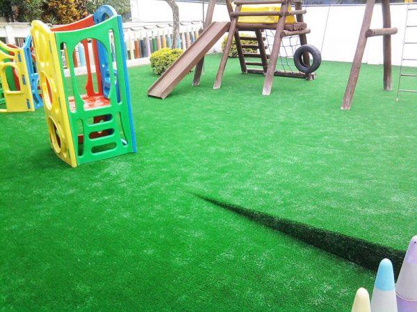 Grama sintética playground crossfit academias decoração e etc  20MM