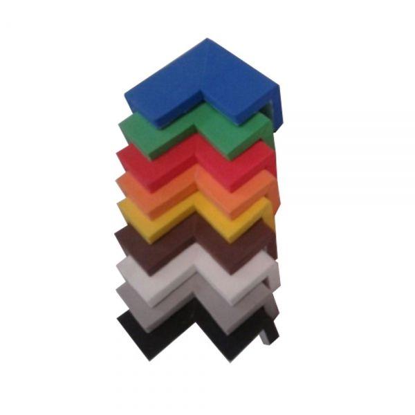 Protetores de Quina 2,5x5x2,5cm 6mm