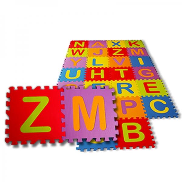 Tatames EVA Alfabeto 33x33cm Com 26 peças