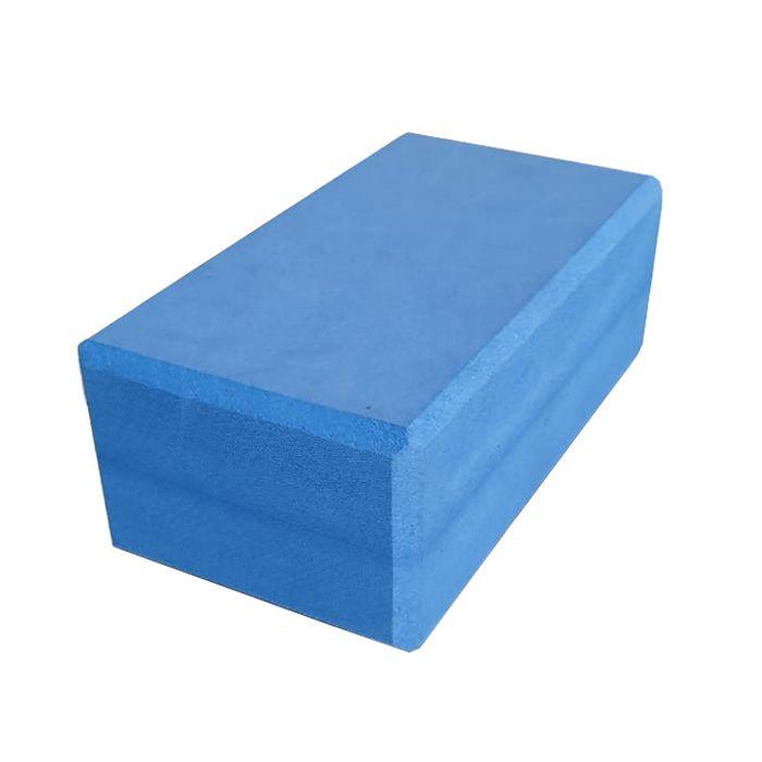 Bloco de Yoga Azul 8x12x21cm