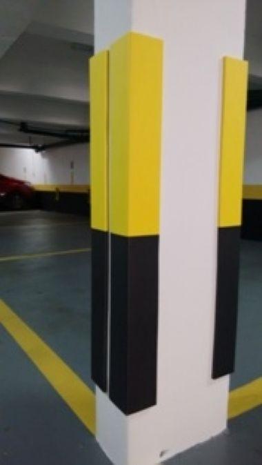 Cantoneira de Estacionamento 80x4x4cm 10mm