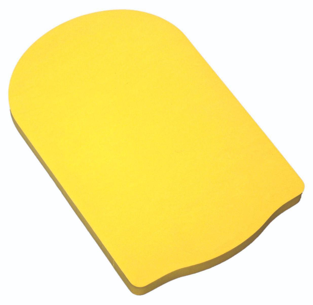 Prancha Pequena Natação Amarelo - 32x32cm 30mm