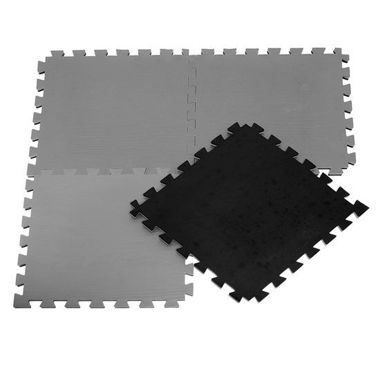 Kit Tatame E.V.A. 4 unidades 100x100x3cm 30mm Dupla Face