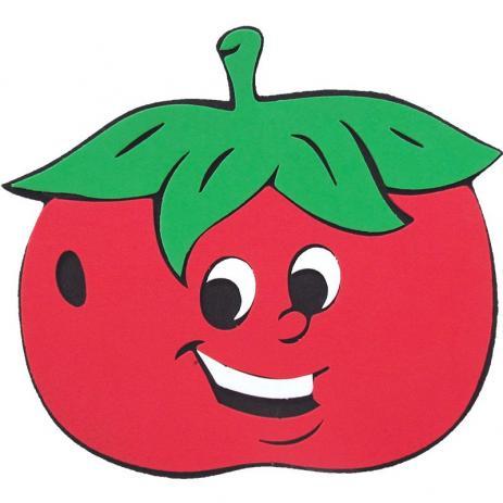 Mini Painel de E.V.A Escolar/Decoração - Tomate