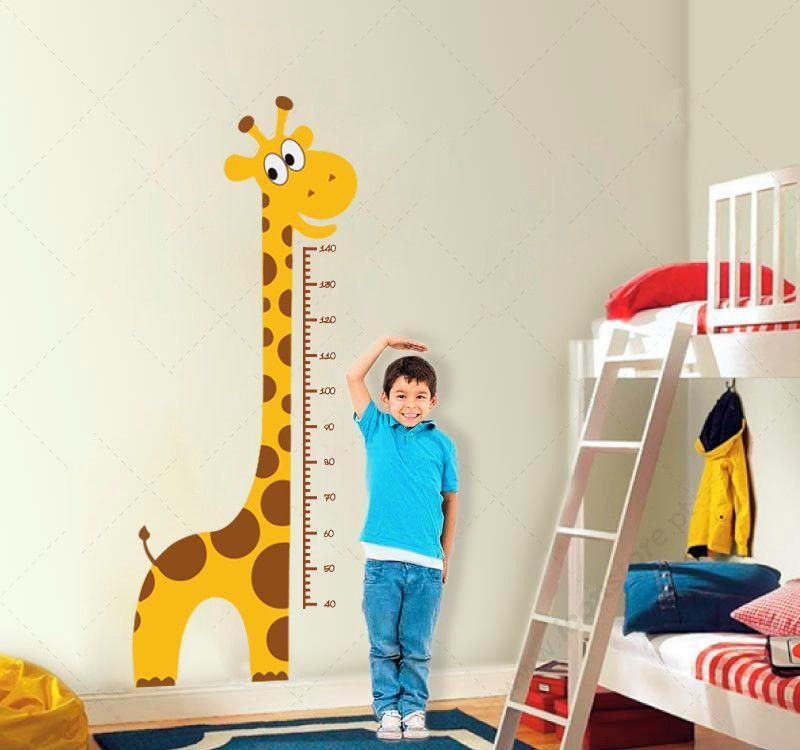 Painel de E.V.A Escolar/Decoração - Girafinha do crescimento (1,35cm)