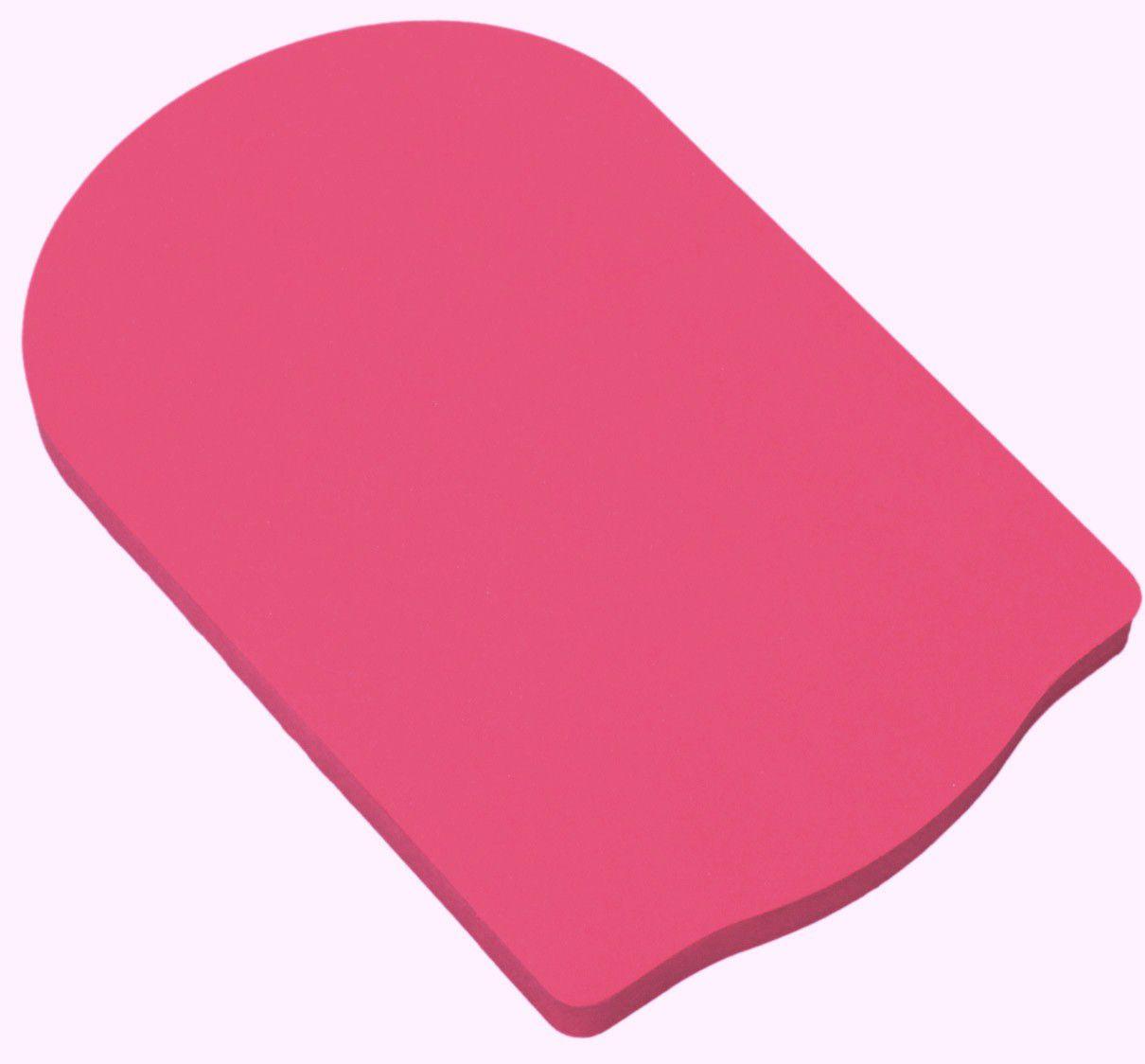 Prancha Pequena Natação Rosa - 32x32cm 30mm
