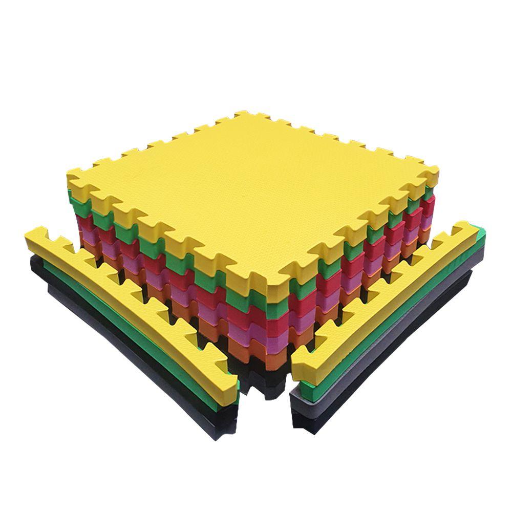 Tatame EVA 50x50x3cm 30mm - Escolha as suas cores e monte o seu kit!