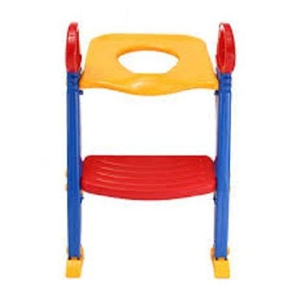 Troninho escadinha com assento redutor infantil