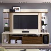 "Home Theater para TV 55"" Frizz Gold Off-White/Savana - Madetec"