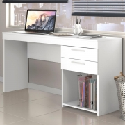 Mesa Office 2 Gavetas 51015 New Branco - Notável