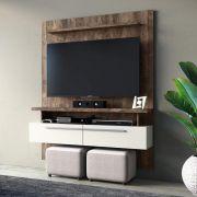 Painel Home Para Tv Até 60 Polegadas 2 Portas New Caju Linea Brasil