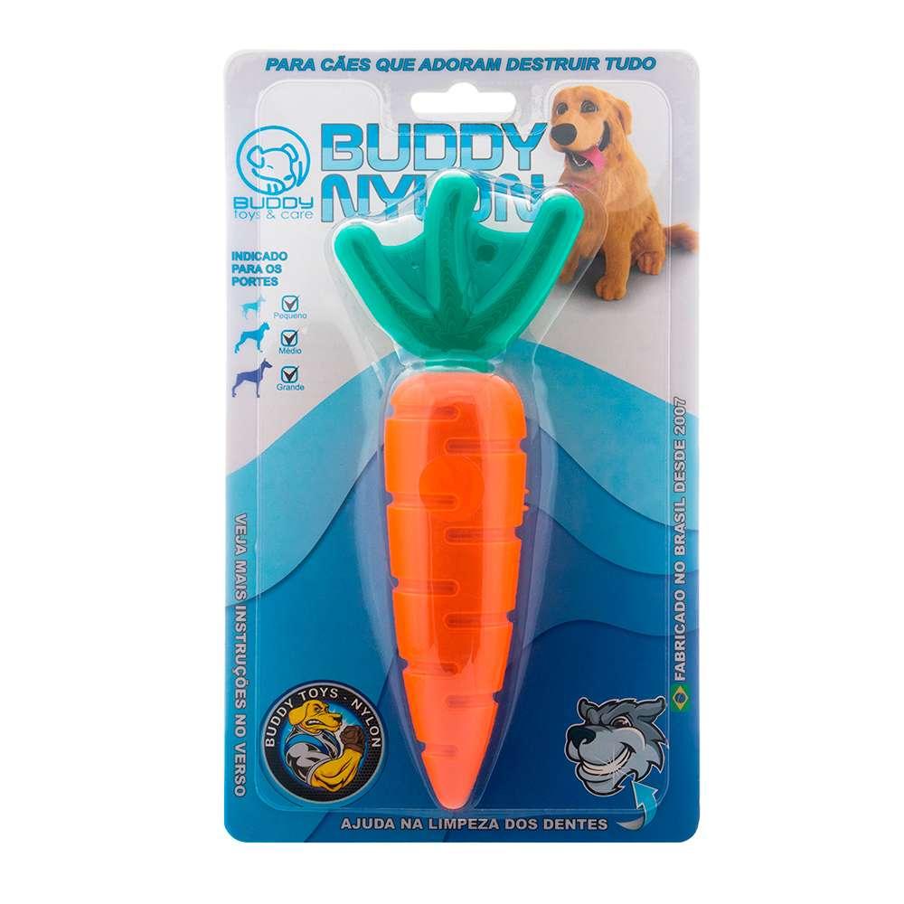 Cenoura Nylon Brinquedo Mordedor - Buddy Toys