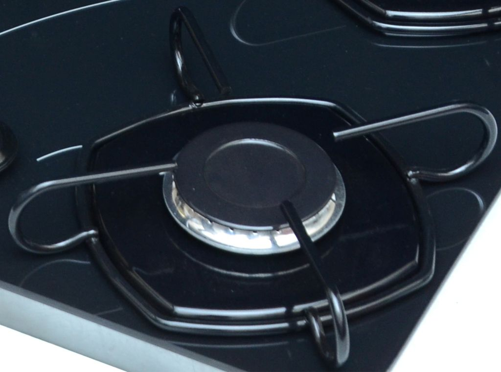 Cooktop 5 Bocas Acendimento Automático Pop Braslar Bivolt Preto