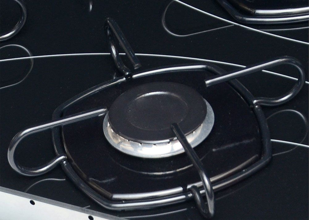 Cooktop a Gás 4 Bocas Braslar Pop Preto 10050016